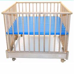 Kettler 1056 Four-Sided Foldable Play Pen with Blue Deck