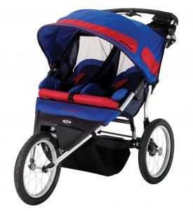 Schwinn Free Runner Double Jogging Stroller - Model SC908 - Free Shipping!