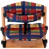 Kettler H4843-M447 Kombi High Chair Dark Removable Tray , Plaid Padding