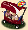 Radio Flyer Voyager Canopy Wagon