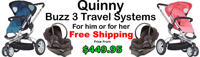 Quinny Buzz 3 Wheel Strollers Collection