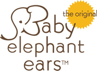 Baby Elephant Ears - multi-use headrest  Pillow