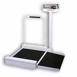 Detecto 495 Mechanical Wheelchair Scale,400 lb x 4 oz