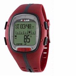 Polar RS-200 Heart Rate Monitor, Red