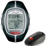 Polar RS-200SD Heart Rate Monitor with S1 Foot Pod, Black