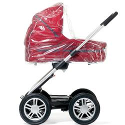 Mutsy DIV014, Rain Cover for Carrycot - Clear