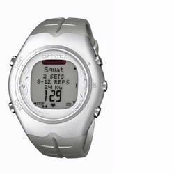 Polar F-55 Heart Rate Monitor, Ice