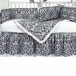Hoohobbers Crib Bedding 4 pc Set, Versailles
