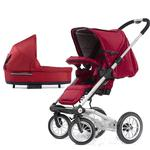 Mutsy 4Rider Light Newborn Stroller System - Team Red