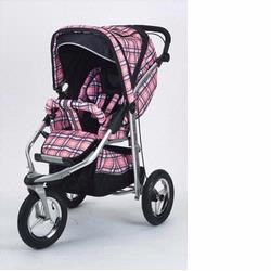 Baby Bling BBPP333P Metamorphosis Jogging Stroller, Papillian Pink (Soft Plaid Pink)