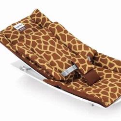 Inglesina 1721-GIR Seat Cover for Loft Rocking Chair- Giraffe