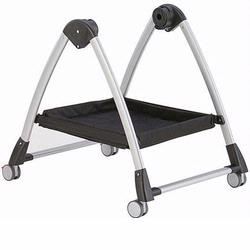 Peg Perego IASKSTNANL65 Skate Bassinet Stand Black And Silver Stand