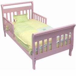 Dream On Me Sleigh Toddler Bed Pink 642P