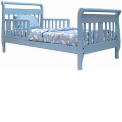 Dream On Me Sleigh Toddler Bed Blue 642B