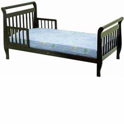 Dream On Me Sleigh Toddler Bed Espresso 642E