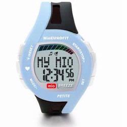 Mio Breeze Petite Heart Rate Watch Black w/Blue accent 0020US-BLK2