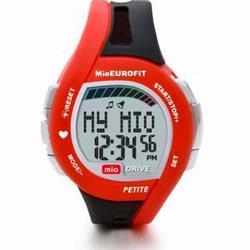 Mio Drive Petite Heart Rate Watch Black w/Red accent 0021US-RED2