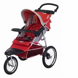 InSTEP 11-AR250 Safari Swivel All Terrain Strollers, Rose Khaki