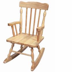 Giftmark 3100N Childs Colonial Spindle Rocking Chair (Natural)