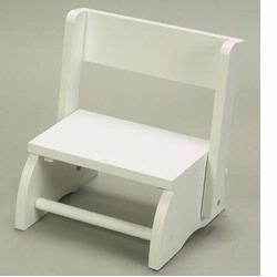 Giftmark 1615W Large Flip Stool- White