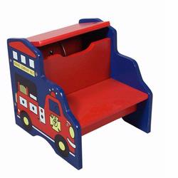 Giftmark 1444 Storage Fire Engine Step Stool