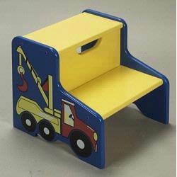GIftmark 1475 Tow Truck Step Stool