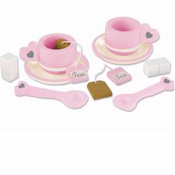 KidKraft 63182 Prairie Tea Set