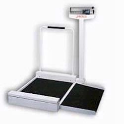 Detecto 4951 Mechanical Stationary Wheelchair Scale ,180 kg x 100 g