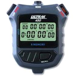 Ultrak 480 8 Lap Memory Stopwatch (With 2-Line Display)