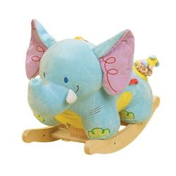 Rockabye 85010 Elijah Elephant Rocking Toy