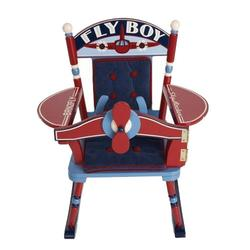 Levels of Discovery RAB00038 Fly Boy Airplane Rocker