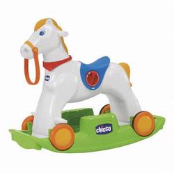 Chicco 00070603000000 Rodeo  Adjustable Interactive Rocking Horse