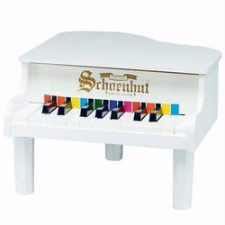 Schoenhut 189W 18 Key Mini Grand Piano - White
