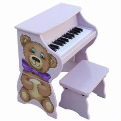 Schoenhut 9258TB 25 Key Teddy Bear Piano w/ Bench