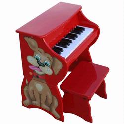Schoenhut 9258D 25 Key Dog Piano w/ Bench