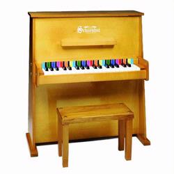 Schoenhut 3798O 37 Key Day Care Durable Piano - Oak