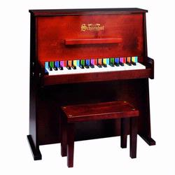 Schoenhut 3798M 37 Key Day Care Durable Piano - Mahogany