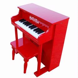 Schoenhut 6625R 25 Key Traditional Spinet - Red