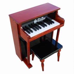 Schoenhut 6625MB 25 Key Traditional Spinet - Mahogany/Black