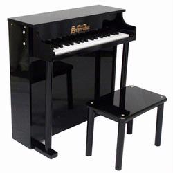Schoenhut 6637B 37  Key Traditional Deluxe Spinet - Black