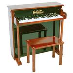 Schoenhut 6637MB 37 Key Traditional Deluxe Spinet - Mah/Black