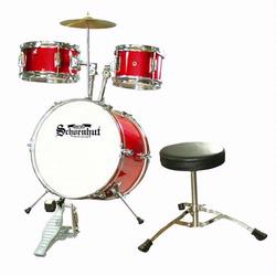 Schoenhut C1020 5 Piece Drum Set - Red