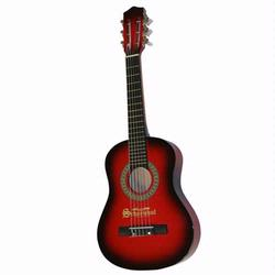 Schoenhut 605ORB 6 String Guitar (metal strings) - Red/Black