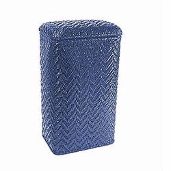 123CB Redmon Elegante Ensemble Apartment Hamper - Coastal Blue