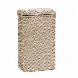 123MO Redmon Elegante Ensemble Apartment Hamper - Mocha
