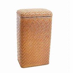 123NM Redmon Elegante Ensemble Apartment Hamper - Nutmeg