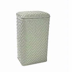 123SG Redmon Elegante Ensemble Apartment Hamper - Sage Green