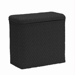 422-BK Redmon Elegante Ensemble Vanity Hamper - Black