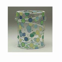 Redmon 6100BL/GR Polka Dot Bongo Bag - Blue/Green