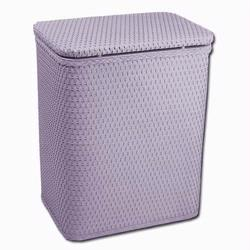 Redmon 721PA Infant and Toddler Wicker Hamper With Bag - Purple Ash